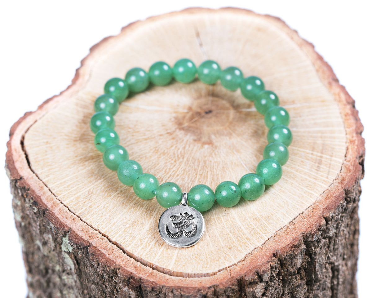 Soothing Green Aventurine Bracelet and Necklace Set