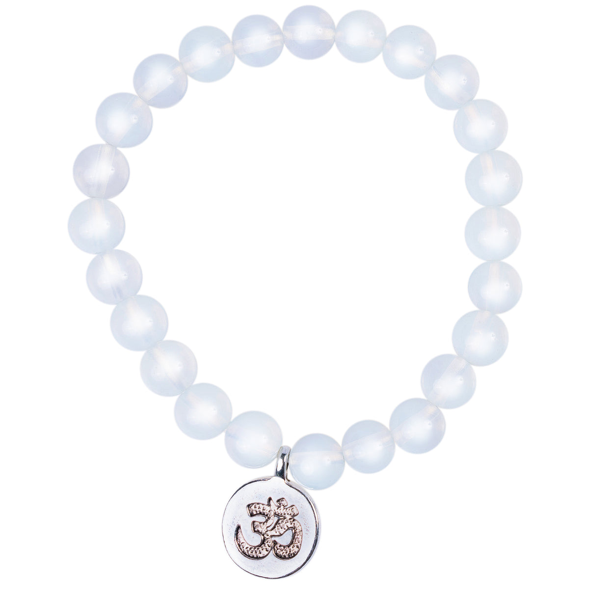 Purity White Crystal Bracelet and Necklace Set