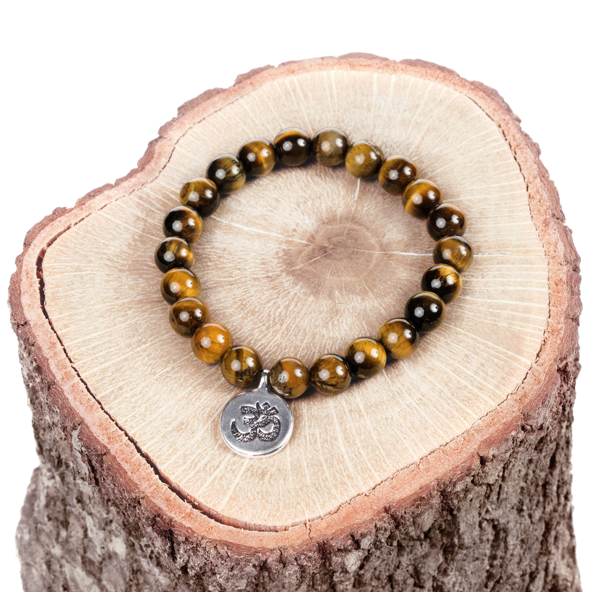 Intuition Enhancer Tiger's Eye Bracelet + Necklace Set