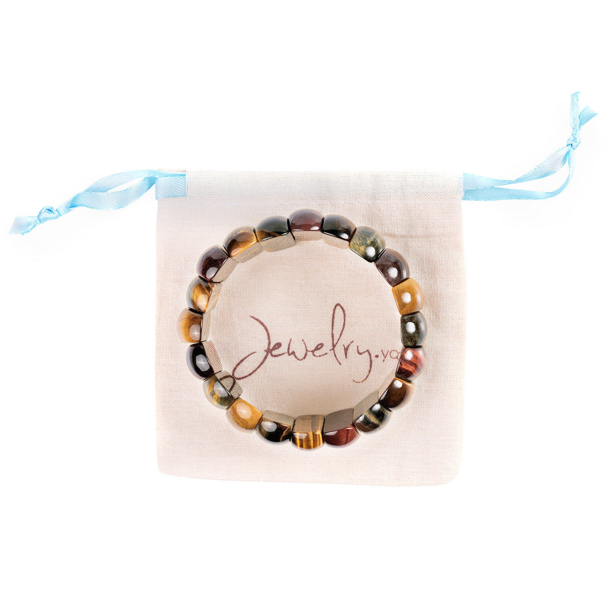 Protection Tiger Eye Wide Bracelet