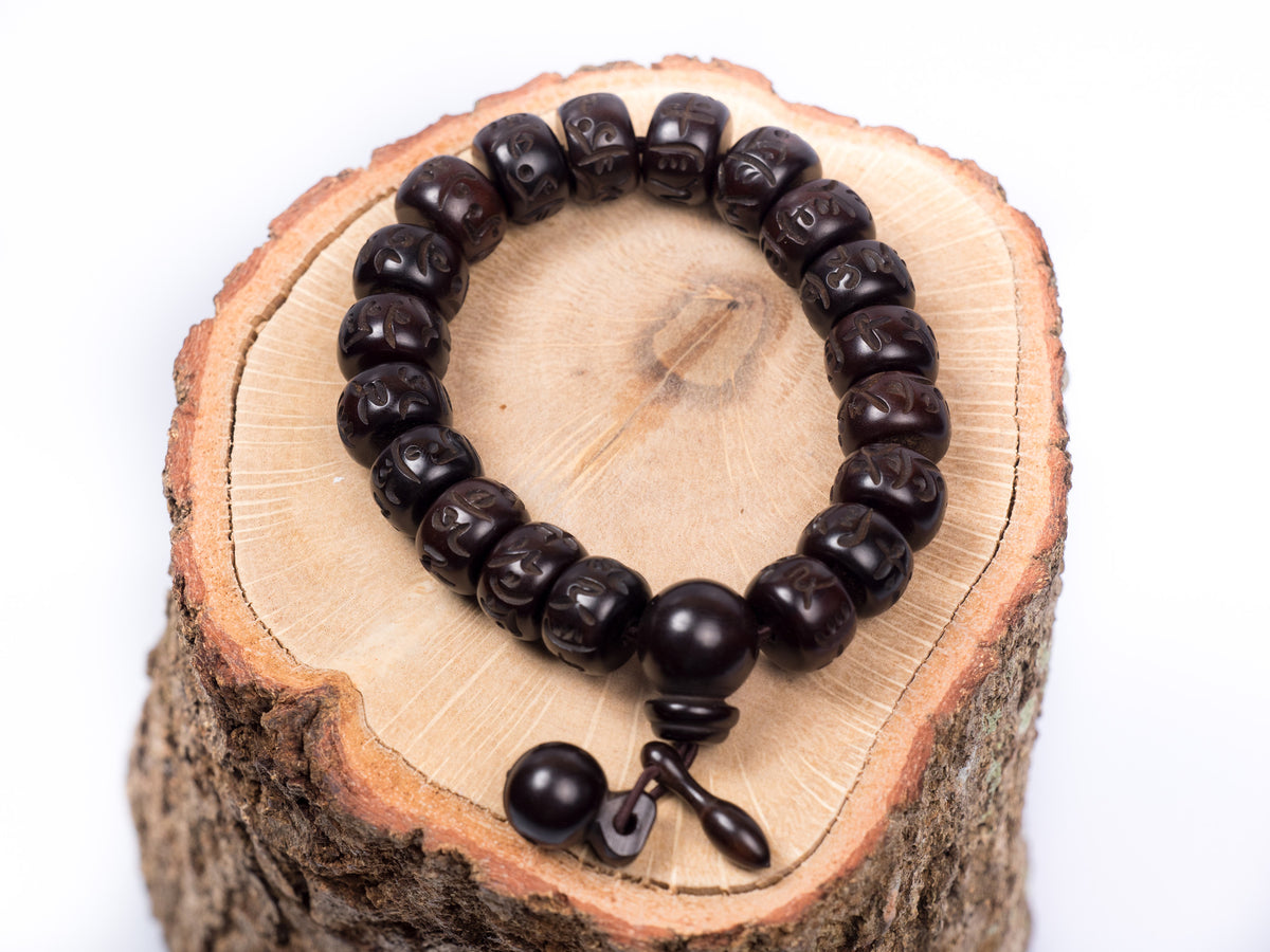 Wooden Tibetan Meditation Bracelet for Men
