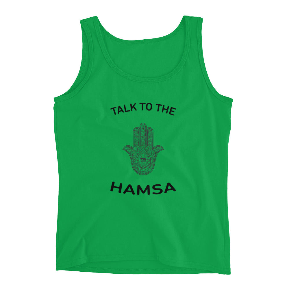 Talk To The Hamsa Ladies' Tank
