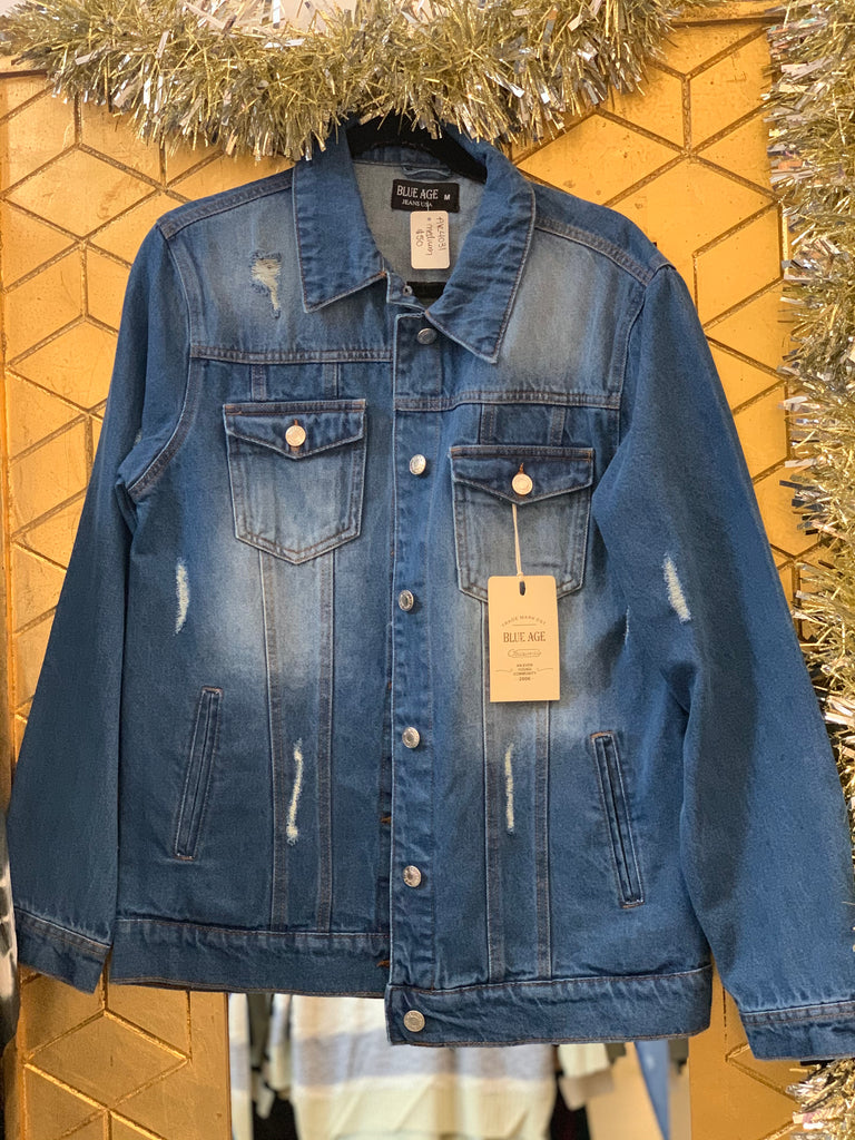 Not Your Girlfriend Denim Jacket