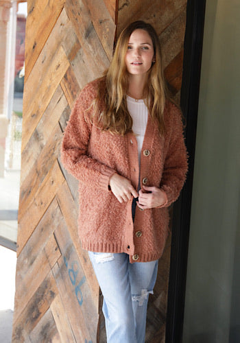 Spice Girl Fluffy Cardigan