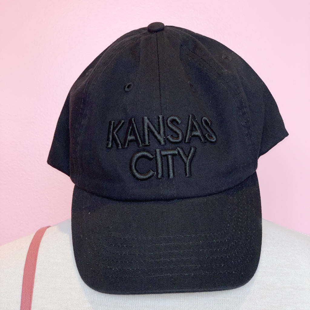 Kansas City Black Block Hat - Black