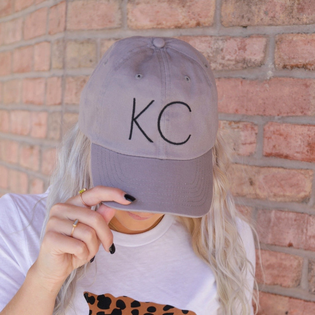 KC Black Hat - Grey