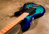 Dingwall Guitars COMBUSTION 4 STRING 'Whalepool burst'