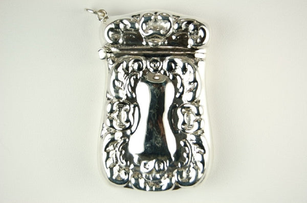 STERLING SILVER MATCH SAFE WEAR AS PENDANT RETAILS FOR $335 + TAX!