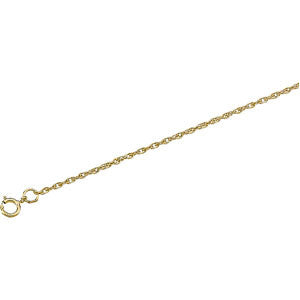 "14K Yellow Gold Rope Chain Bracelet (7"")"