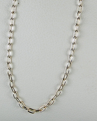 STERLING SILVER NECKLACE 24 INCH CHAIN