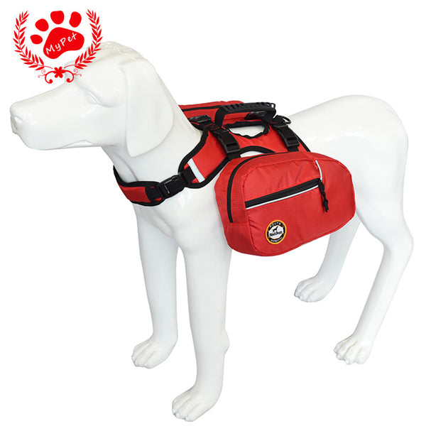 Reflective Dog Backpack Harness - Apparel for Pets