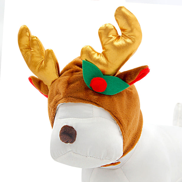 Holiday Winter Elk Antlers - Apparel for Pets