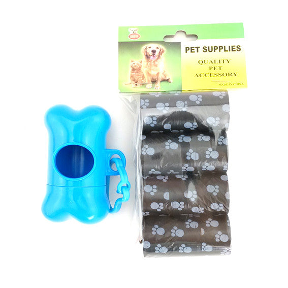 Pet Waste Bags with Dispenser - Apparel for Pets