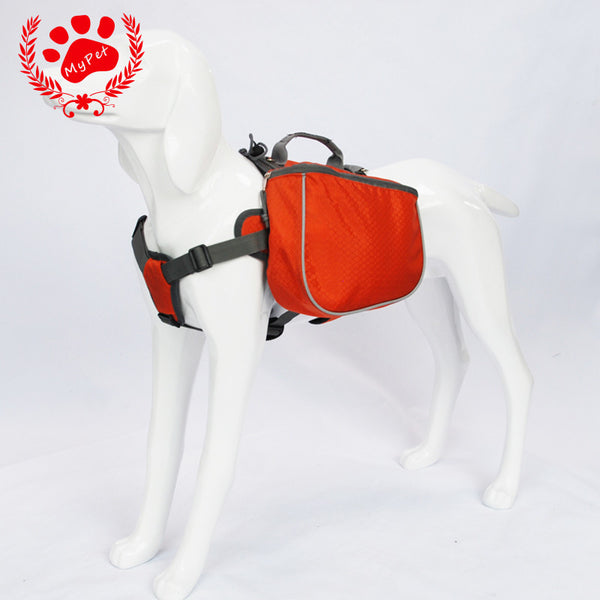 Dog Waterproof  Training Backpack - Apparel for Pets