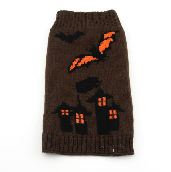 Assorted Knit Dog Sweater--Many Colors and Holiday Options! - Apparel for Pets