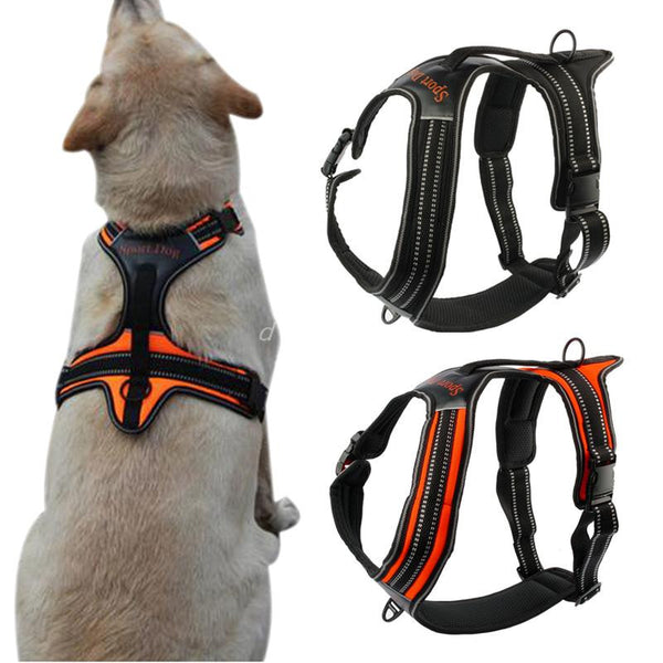 Nylon Reflective Dog Harness - Apparel for Pets