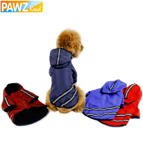 Reflective Dog Raincoat - Dog Clothes - Apparel for Pets