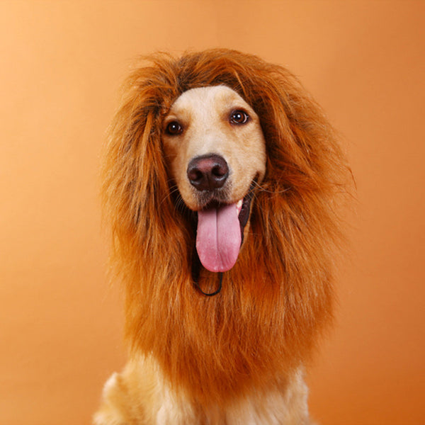 Lion's Mane Wig - Dog Costumes - Apparel for Pets