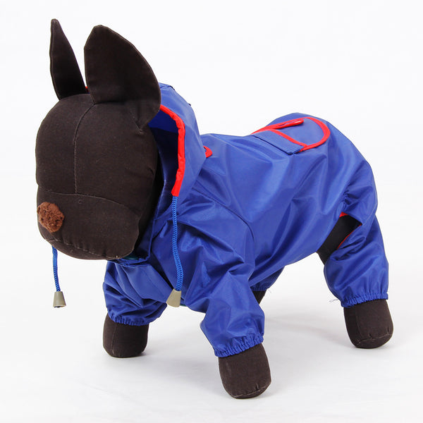 Small Dog Raincoat in Multiple Colors - Apparel for Pets