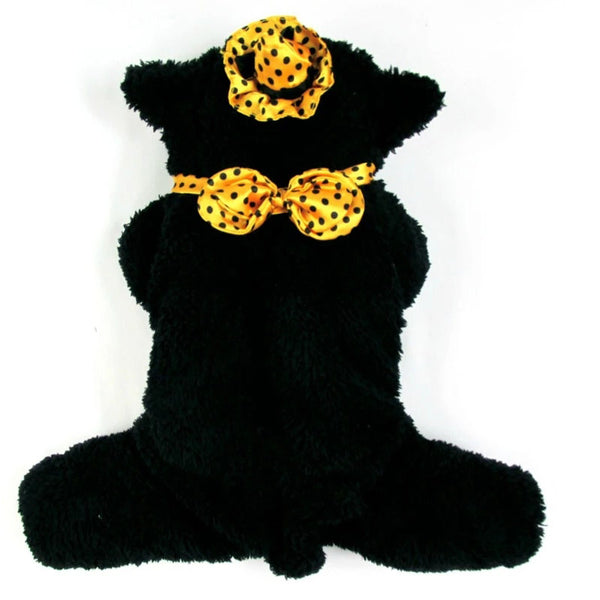 Halloween Kitty  Witch Costume - Apparel for Pets