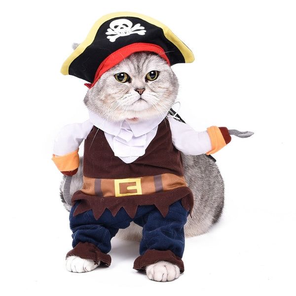 Pirate Outfit- Pet Costumes - Apparel for Pets