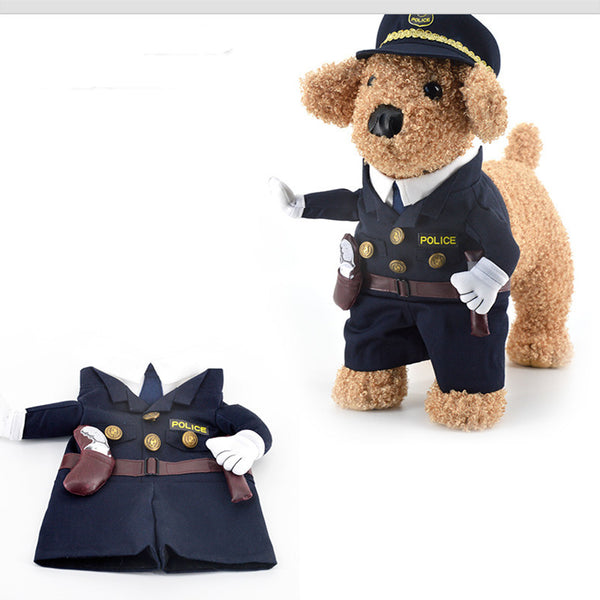 Policeman Outfit - Pet Costumes - Apparel for Pets