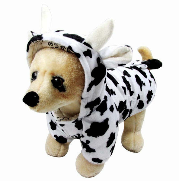 Dairy Cow Costume for Small Pets - Apparel for Pets