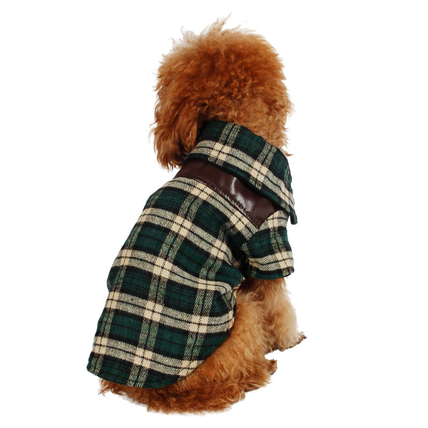Flannel Shirt - Dog Clothes - Apparel for Pets