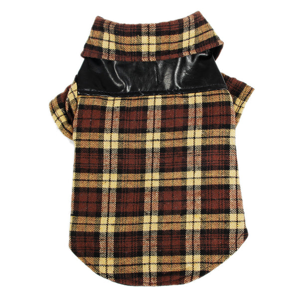 Flannel Shirt - Dog Clothes - Apparel for Pets - 6
