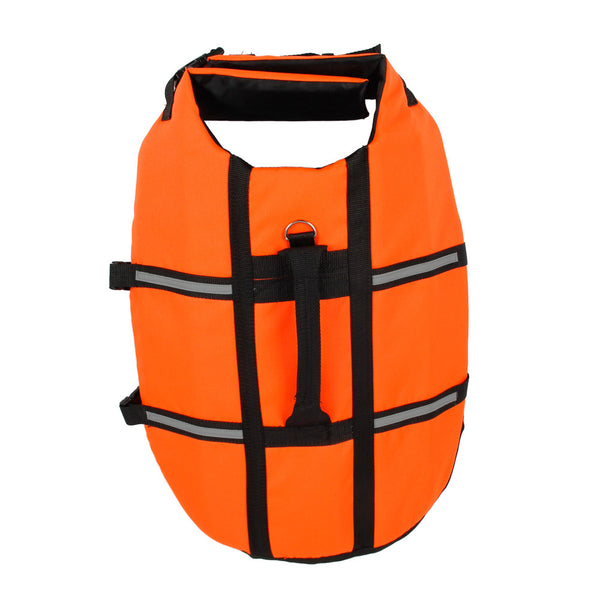 Orange Dog Life Jacket - Apparel for Pets