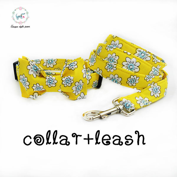 The Sunshine Collar and Leash Combo - Dog Leashes, Dog Collars - Apparel for Pets - 1
