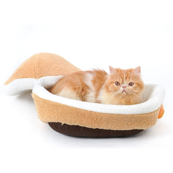 Hamburger Cat Bed - Apparel for Pets