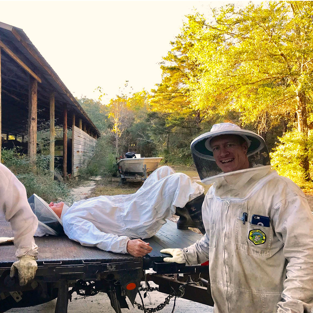 Working Hard for Our Bees In the Off-Season