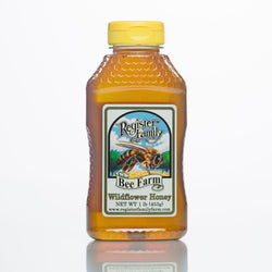 Raw Wildflower Honey - Squeeze Bottle
