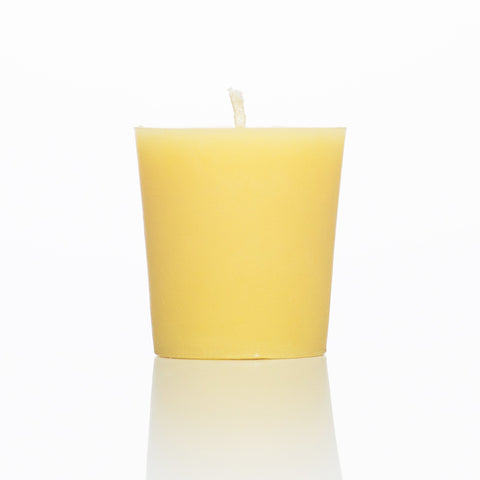 2 Inch Beeswax Votive Candle, 100 percent beeswax