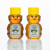 Raw Tupelo and Wildflower Honey - Honey Bears.
