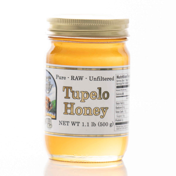 Raw Tupelo Honey - Glass Jar