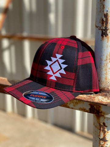 Buffalo Plaid Caps