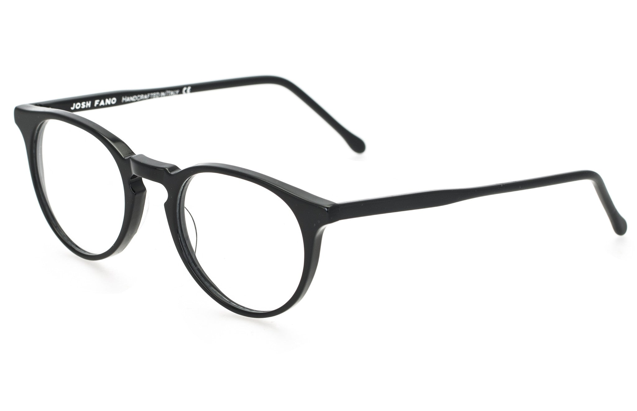 Mayfair | Black - Josh Fano Prescription Glasses Uk