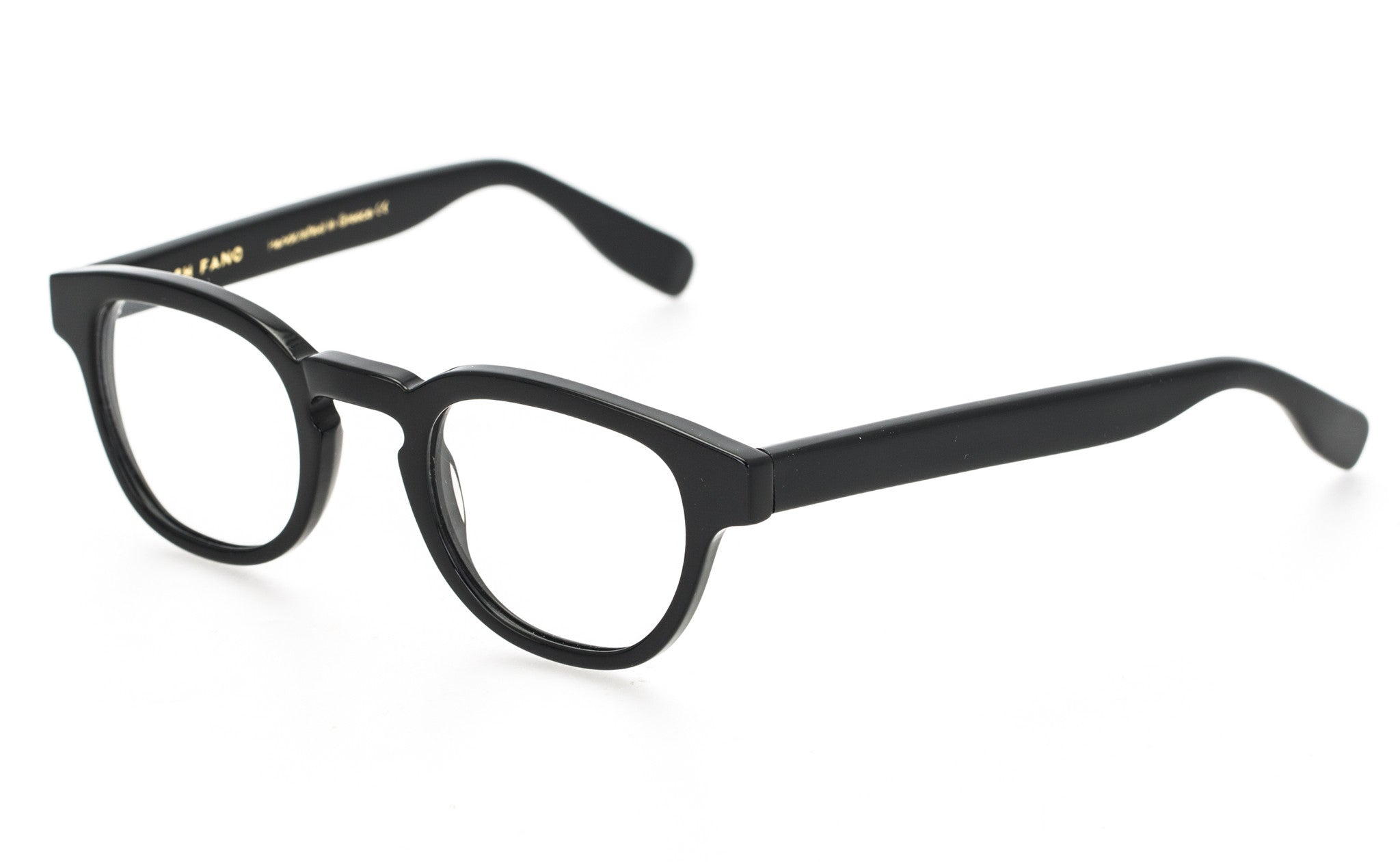 Oxford | Black - Josh Fano Prescription Glasses Uk