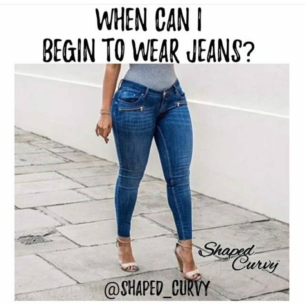 Using Jeans after Cosmetic Surgery