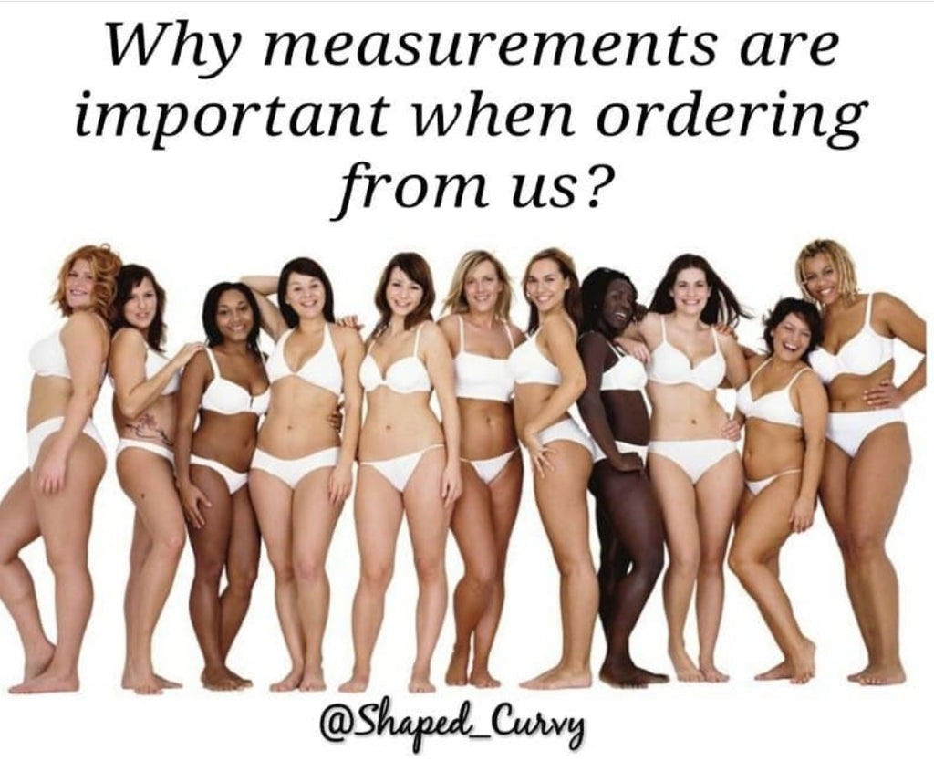 Why Measurements Are Important When Ordering From Us?