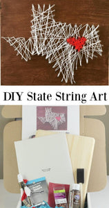 DIY State String Art