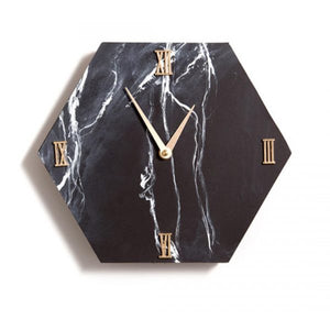 June 2017 Spoiler: Marbled Hexagon Clock