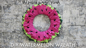 June Spoiler: Watermelon Wreath