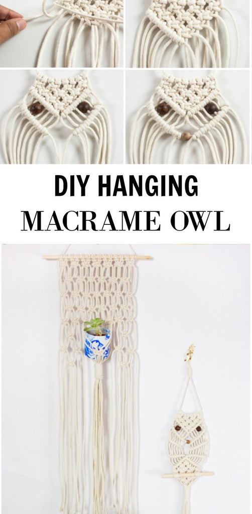Macrame Owl Diy Home Made Luxe