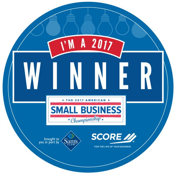 Home Made Luxe named American Small Business Champion by SCORE and Sam's Club!