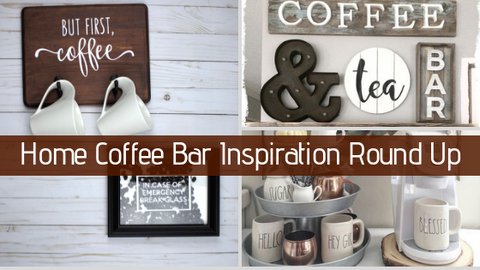 Diy Home Coffee Bar Inspiration Round Up Home Made Luxe