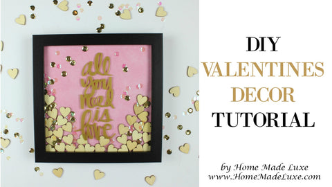 diy valnetines decor