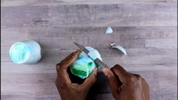 how to make gemstone soap